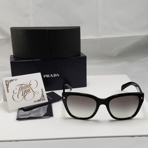NWOT Prada Black SPR 09S Sunglasses